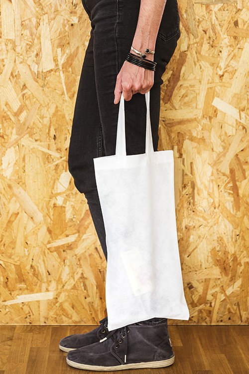 Bolsa de no-tejido porta botella 20x40 cm.